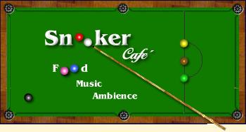 Restaurante Snooker Café Logo